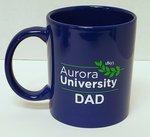 Aurora University Dad Mug Royal Blue