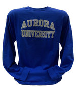 Long Sleeve - Basic Aurora (GRAY) outlined (WHITE)