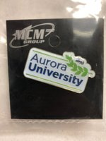 Lapel Pin - Aurora University Lapel Pin with Leaf Logo - Gold Backing