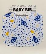 Baby Bib with AU interlocking logos