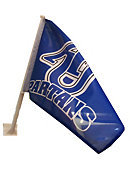AU Car Flag - Royal Blue Flag features AU interlocking over Spartans in White