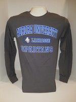 Lacrosse Long Sleeve TShirt Center Chest New Logo