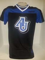 Women's Football Jersey-My Agent Jersey AU interlocking center chest Spartans on nameplate on back over #1