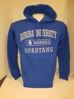 Baseball Hooded Sweatshirt Center Chest New Logo