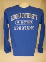 Football Long Sleeve TShirt Center Chest New Logo