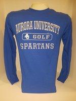 Golf Long Sleeve TShirt Center Chest New Logo