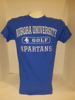 Golf Short Sleeve TShirt Center Chest New Logo