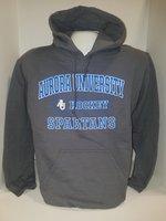 Hockey Hooded Sweatshirt Center Chest New Logo