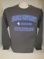 Soccer Crew Neck Sweatshirt Center Chest New Logo
