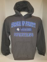Soccer Hooded Sweatshirt Center Chest New Logo