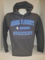 Softball Hooded Sweatshirt Center Chest New Logo