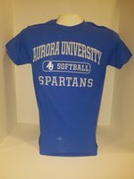 Softball Short Sleeve TShirt Center Chest New Logo