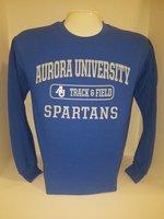Track & Field Crew Neck Sweatshirt Center Chest New Logo