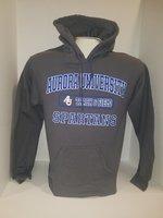 Track & Field Hooded Sweatshirt Center Chest New Logo