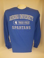 Track & Field Long Sleeve TShirt Center Chest New Logo