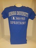 Track & Field Short Sleeve TShirt Center Chest New Logo