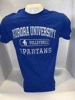 Volleyball Short Sleeve TShirt Center Chest New Logo