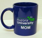 Aurora University Mom Mug Royal Blue