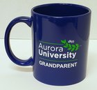 Aurora University Grandparent Mug Royal Blue