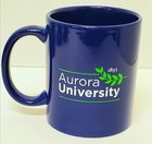 Aurora University Mug Royal Blue