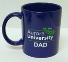 Aurora University Dad Mug Royal Blue