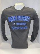 Basketball Long Sleeve TShirt Center Chest New Logo