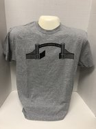 SAP T-Shirt with Gates screen - (Grey Shirt w/ Black Lettering) Home Field Advantage on back
