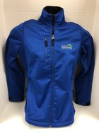 Women's Traverse Jacket AU Interlocking logo on left chest
