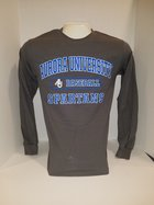 Baseball Long Sleeve TShirt Center Chest New Logo