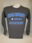 Football Crew Neck Sweatshirt Center Chest New Logo