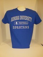 Football Short Sleeve TShirt Center Chest New Logo