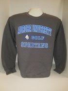 Golf Crew Neck Sweatshirt Center Chest New Logo