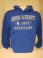 Golf Hooded Sweatshirt Center Chest New Logo