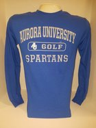 Golf Long Sleeve TShirt Center Chest New Logo