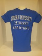Hockey Short Sleeve TShirt Center Chest New Logo