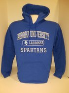 Lacrosse Hooded Sweatshirt Center Chest New Logo