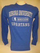 Soccer Long Sleeve TShirt Center Chest New Logo