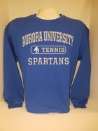 Tennis Crew Neck Sweatshirt Center Chest New Logo