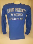 Tennis Long Sleeve TShirt Center Chest New Logo