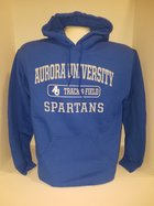 Track & Field Hooded Sweatshirt Center Chest New Logo