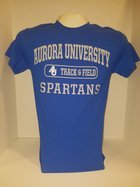 Track & Field Short Sleeve TShirt Center Chest New Logo